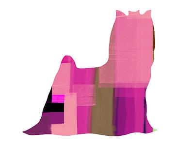 Yorkshire Terrier Print by Naxart Studio