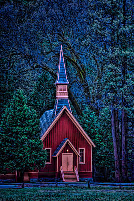 Photograph - Chapel by Maria Coulson