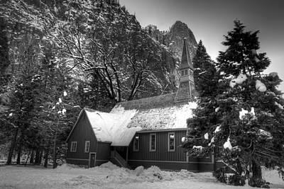Photograph - Yosemite Chapel by Robert Melvin