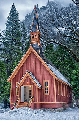 Photograph - Yosemite Church by Cat Connor