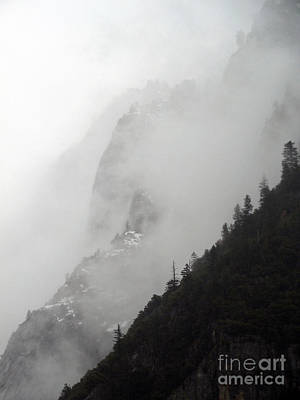 Photograph - Yosemite Clouds On The Hill by Scott Shaw