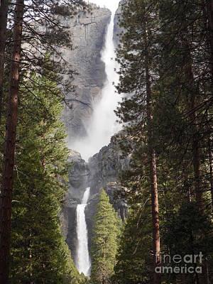 Yosemite Falls 2013 Art Print