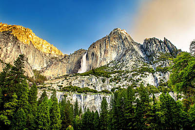 Mountain Royalty-Free and Rights-Managed Images - Yosemite Falls  by Az Jackson