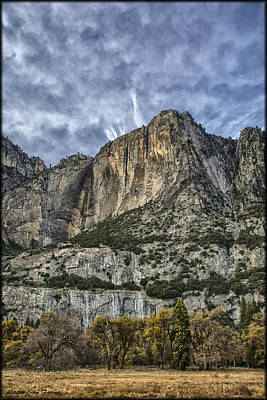 Photograph - Yosemite Falls Dry by Erika Fawcett