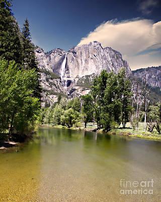 Photograph - Yosemite Falls by Lana Trussell