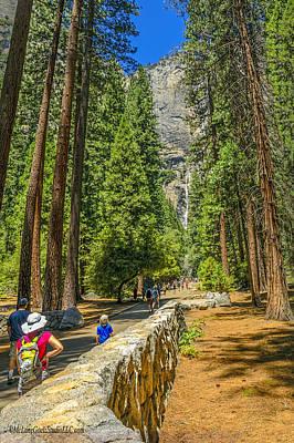 Photograph - Yosemite Falls by LeeAnn McLaneGoetz McLaneGoetzStudioLLCcom