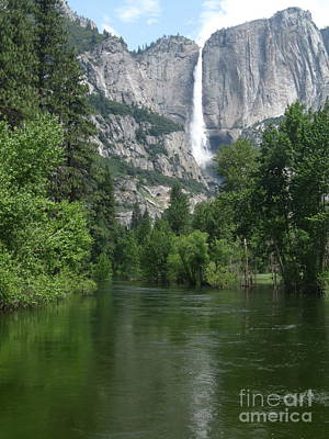 Photograph - Yosemite Falls by Mark Messenger