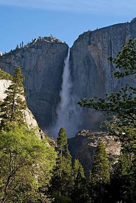Photograph - Yosemite Falls Morning by Michele Myers