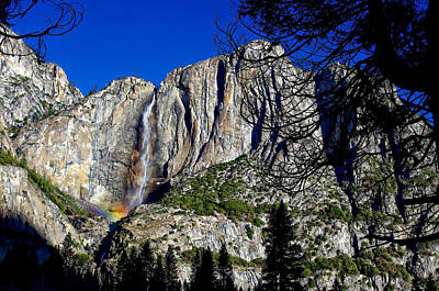 Photograph - Yosemite Falls Rainbow by Scott McGuire