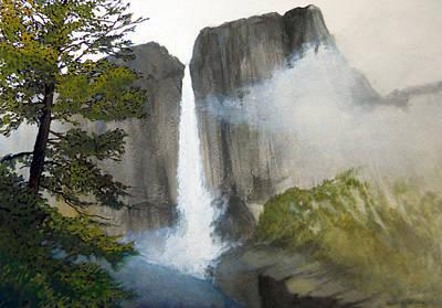 Robert Duvall Painting - Yosemite Falls by Robert Duvall