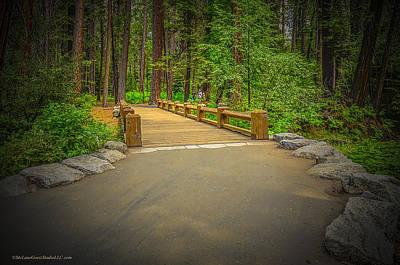 Photograph - Yosemite Falls Trail by LeeAnn McLaneGoetz McLaneGoetzStudioLLCcom