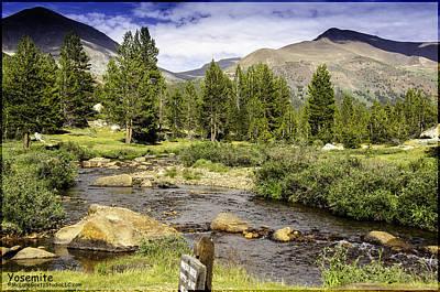 Photograph - Yosemite Fresh Drinking Water by LeeAnn McLaneGoetz McLaneGoetzStudioLLCcom