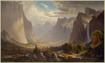 Yosemite National Park Digital Art - Yosemite by Gary Grayson