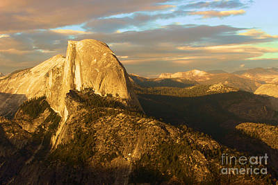 Photograph - Yosemite Half Dome by Adam Jewell