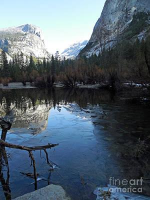 Photograph - Yosemite Ice Lake by Scott Shaw