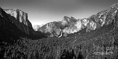 Yosemite Inspiration Point Art Print