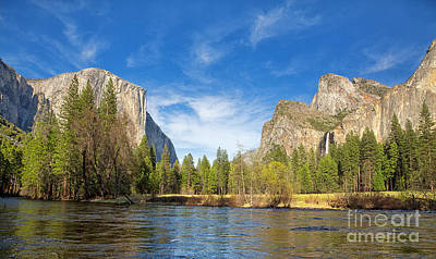 Cathedral Rock Photograph - Yosemite by Jane Rix