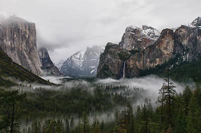 Yosemite Art Print by Jay Seeley