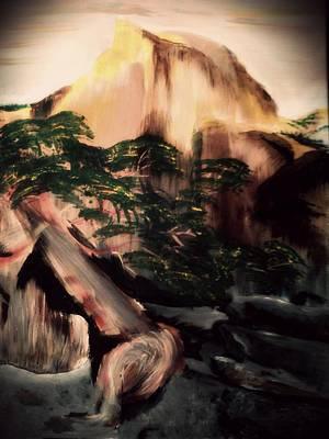 Yosemite Art Print by Magdalena Silbertson