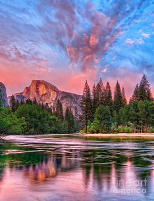 Photograph - Yosemite Magic by Beth Sargent