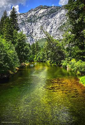 Photograph - Yosemite Merced River Rafting by LeeAnn McLaneGoetz McLaneGoetzStudioLLCcom