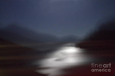Photograph - Yosemite Moonlight by Tonja Gabryshak Howard