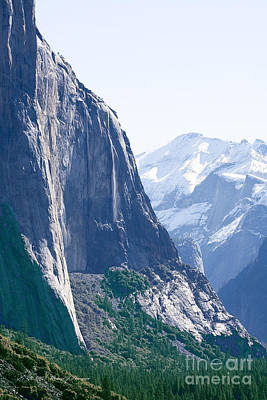 Photograph - Yosemite Mountains by Richard J Thompson