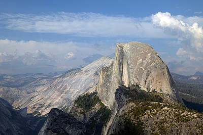 Photograph - Yosemite National Park Half Dome by Carol M Highsmith