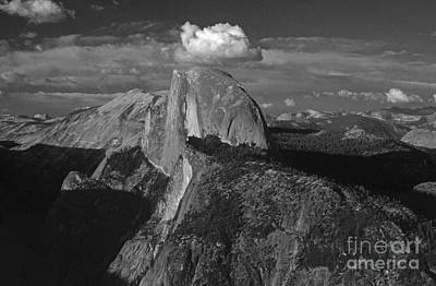 Photograph - Yosemite National Park Looking Down The Valley View With Half Dome by Jim Corwin