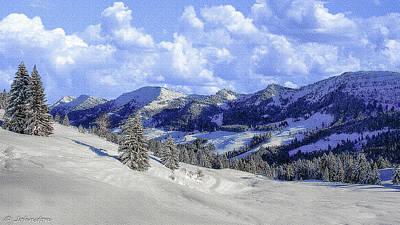 Photograph - Yosemite National Park Winter by Bob and Nadine Johnston