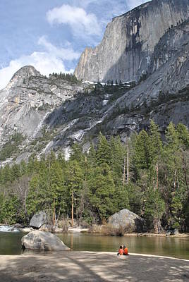 Photograph - Yosemite National Park Mirror Lake 25 by Jeff Brunton