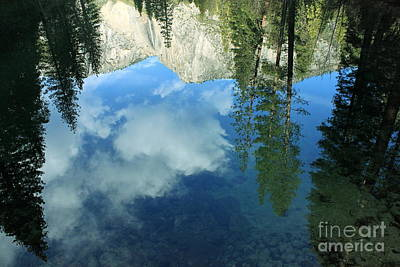 Photograph - Yosemite Reflection 2 by Theresa Ramos-DuVon
