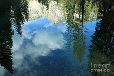 Yosemite Reflection 2 Art Print by Theresa Ramos-DuVon