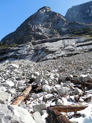Photograph - Yosemite Rocks by Scott Shaw