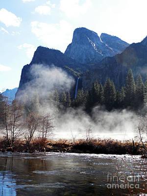 Photograph - Yosemite Steaming Essence by Scott Shaw