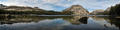 Photograph - Yosemite Tenaya Lake Panorama by John Haldane