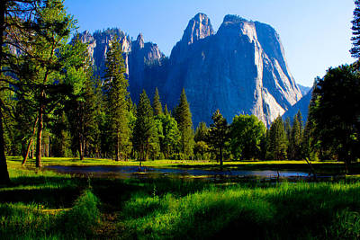 Photograph - Yosemite Valley And Lake  by John McGraw