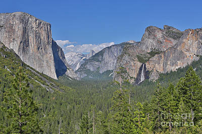 Photograph - Yosemite Valley by Bill Singleton