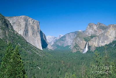 Photograph - Yosemite Valley by David Davis