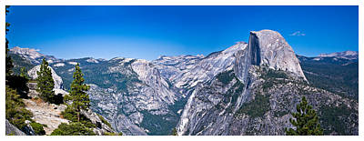 Photograph - Yosemite Valley From Glacier Point by Gene Norris