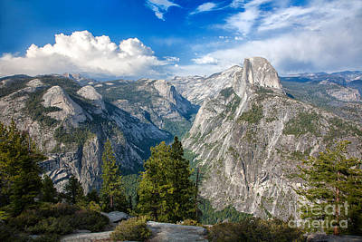 Half Dome Photograph - Yosemite Valley From Glacier Point by Mimi Ditchie