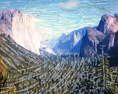 Mixed Media - Yosemite Valley Fun by Glenn McNary