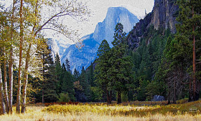 Photograph - Yosemite Valley Half Dome View by Jim Pavelle