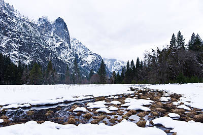 Photograph - Yosemite Valley In Winter by Priya Ghose