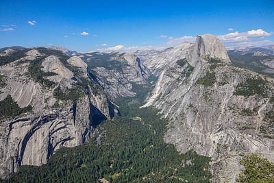 Yosemite Valley From Above Art Print