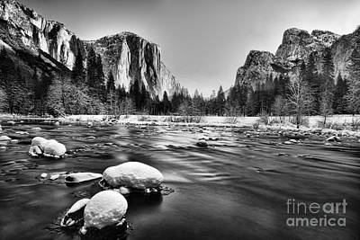 Yosemite Valley Art Print by Peter Dang
