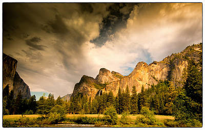 Art Print featuring the photograph Yosemite Valley Spring 2013 by Janis Knight