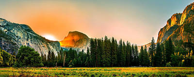 Half Dome Photograph - Sunrise Surprise by Az Jackson