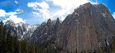 Photograph - Yosemite Valley Vista by Jim Pavelle