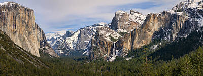 Photograph - Yosemite Valley With Snow by Gregory Scott